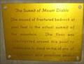 Image for Mount Diablo - Contra Costa County, CA
