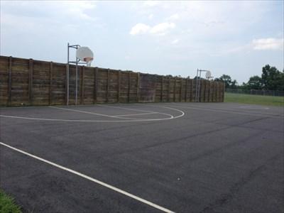 Hoops Near Wall, Falmouth, Virginia