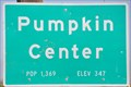 Image for Pumpkin Center ~ Population 1,369