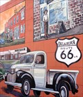 Image for Historic Route 66 -  Route 66 Icons Mural - Bethany, Oklahoma, USA.