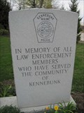 Image for Kennebunk Law Enforcement Memorial - Kennebunk, Maine