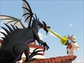 Image for St. George and the Dragon, LEGO Store, Downtown Disney Marketplace - Orlando, FL