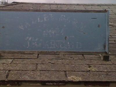 "I believe it reads ""Valley Farm 1824 Kincaid"""
