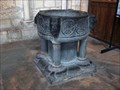 Image for Baptismal font in the Laon Cathedral, - France