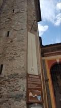 Image for Noon Mark Sundial at Chiesa Collegiata dei Santi Gervasio e Protasio - Domodossola, Piemonte, Italy