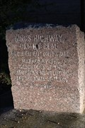 Image for El Camino Real -- DAR Marker No. 40, OSR near Watson Rd, Madison Co. TX