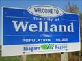 Image for Welland, Ontario, Canada - Population 50,300