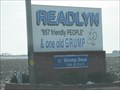 """Image for Home of the Grump """"857 Friendly People & One Old Grump""""--Readlyn, IA"""