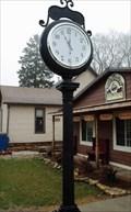 Image for LeClaire, Iowa's new Clock.