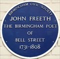 Image for John Freeth - St Martin's Walk, Birmingham, UK