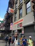 Image for Burger King - Canal St. - New York, NY