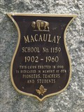 Image for MHM Macaulay School No. 1159