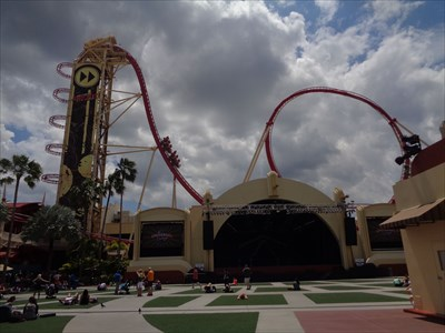 veritas vita visited Hollywood Rip Ride Rockit