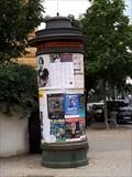 Image for Advertising column on the corner Veleslavinov - Sady 5 Kvetna - Plzen, Czech Repuplic