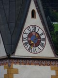 Image for Church clock Pfarrkirche Matrei am Brenner, Tirol, Austria