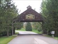 Image for Gunther Gardens Covered Bridge, Saline Michigan