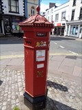 Image for Victorian Pillar Box - Monmouth, Gwent, Wales.