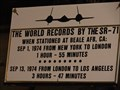 Image for SR-71's World Records - Hill AFB Aerospace Museum - Roy, Utah