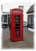 Image for Red Telephone Box - Cattle Market/New Street, Sandwich, Kent, UK.