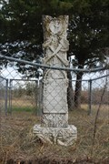 Image for Mary E. Hooper - West Hill Cemetery - Roff, OK