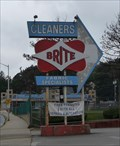 Image for Brite Cleaners Sign - Worcester MA