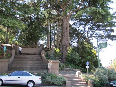 Eastern Entrance, Buena Vista Park, San Francisco, CA