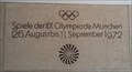 Image for Marker of XX Olympic Games - City Hall München, Germany, BY