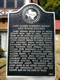 Image for Gov. James Stephen Hogg and Wood County