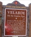 Image for Velarde - Velarde, NM