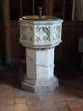 Image for Font, St Peter's, Martley, Worcestershire, England