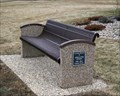 Image for Jerry and Pam Ortman Bench - Freeman, SD