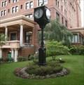 Image for Student Union Clock - University of Pittsburgh, Pennsylvania, USA