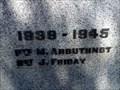 Image for War Memorial - WW2 - Bonnie Doon, Vic, Australia