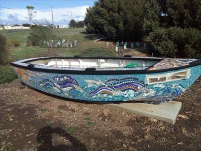 Looking south at the Mosaic Boat. 1511, Tuesday, 29 May, 2018