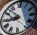 Image for Swiss United Church of Christ Clock - New Glarus, WI