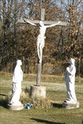 Image for Crucifixion in Cemetery - Holy Family Catholic Church - Port Hudson, MO