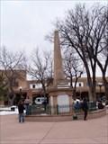 Image for Santa Fe Plaza Obelisk - Santa Fe, New Mexico