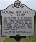 Image for General Braddock's 5th Camp