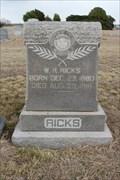 Image for W.R. Ricks - Megargel Cemetery - Megargel, TX
