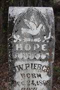 Image for J.W. Pierce - Monk Cemetery - Ratliff City, OK, USA
