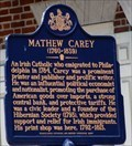 Image for Mathew Carey (1760-1839) - Philadelphia, PA