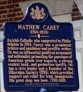 Image for Mathew Carey (1760-1839) - Philadelphia, PA
