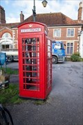 Image for Red Telephone Box - Choristers Square, Salisbury, UK