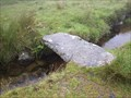 Image for Single Stone Clapper - Devonport Leat, Dartmoor.