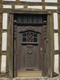 Image for Old Doorway at Half-Timbered House in Gelsdorf - RLP / Germany