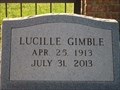 Image for 100 - Lucille Gimble - New Harmony Cemetery - Tyler, TX
