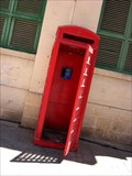 Image for Red Telephone Box - Valletta Market Hall, Malta