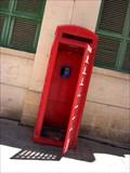 Image for Red Telephone Box - Valletta Market Hall, Malta