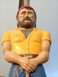 Image for Louie the Lumberjack Statue - Flagstaff, Arizona, USA.