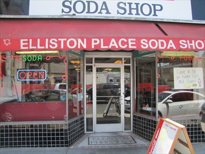 Elliston Place Soda Shop, Front View, Nashville, Tennessee